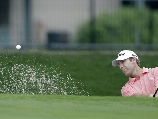 PGA: Crowne Plaza Invitational at Colonial-Third Round