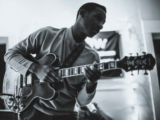 Leon Bridges' intimate tone should be a good fit tonight in the darkened, seated theater setting of the Flynn Center.