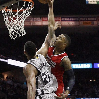 Damian Lillard scored 16 of his career-high 43 points in the extra frames.