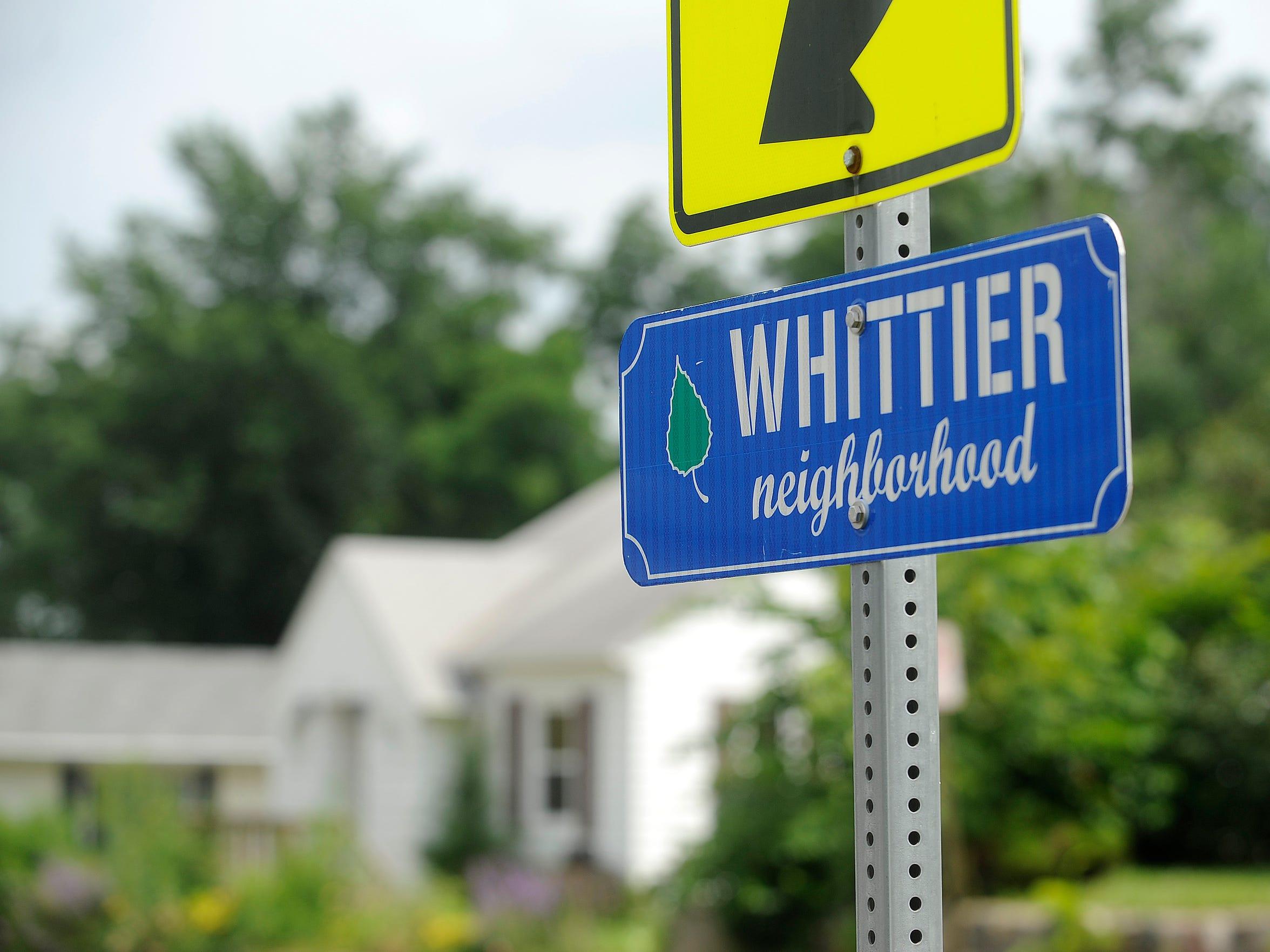 Whittier neighborhood in Sioux Falls, S.D., Thursday, July 9, 2015.