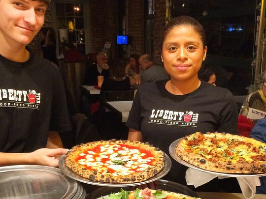 The entire Liberty Hall Pizza menu will also be available along with the guest chef's pizzas for all Guest Pizzaiolo events.