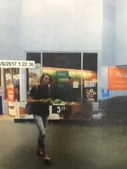 Police are looking for this suspect accused of stealing