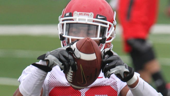 Rutgers wide receiver Ruhann Peele has not played this season due to an upper body injury suffered early in training camp.