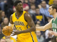 Former Pacer Roy Hibbert joins 76ers in coaching role