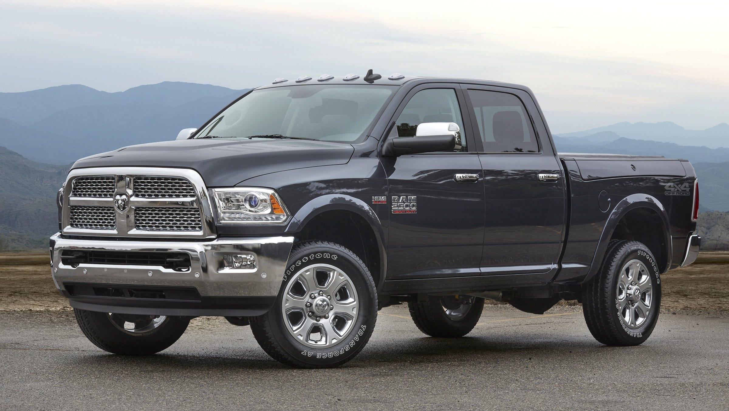 Chrysler Truck >> Fiat Chrysler Recalls 494 000 Ram Trucks For Fire Hazard
