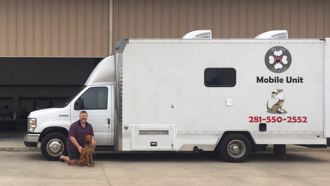 Veterinarian Darrell Smith was able to purchase a mobile vet unit for his business thanks to a quick-turn, no-interest loan from St. Cloud-based Stearns Bank N.A.