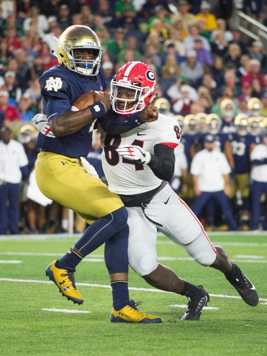 3 reasons why Notre Dame football lost to Georgia Bulldogs ...