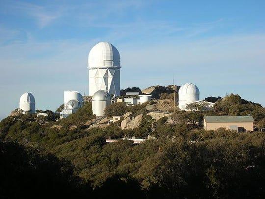 Kitt Peak National Observatory, southwest of Tucson.