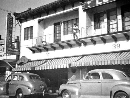 Soledad Street around Steinbeck's time.