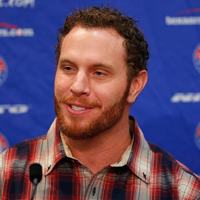 Josh Hamilton, outfielder for the Texas Rangers, talks