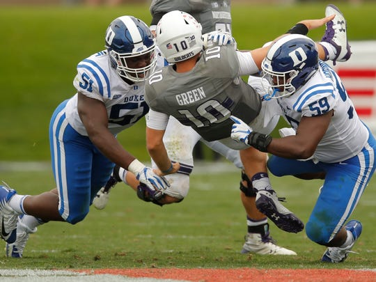 Duke plays MTSU in Murfreesboro on September 14. MTSU has won two games against ACC opponents under Rick Stockstill.