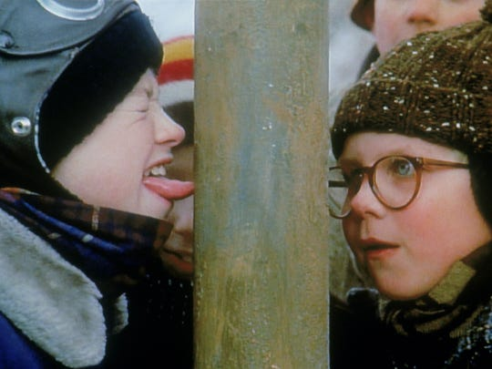 """""""A Christmas Story"""" won Best Picture Set in a Fictional Indiana Town, according to a panel of experts assembled by the Star."""