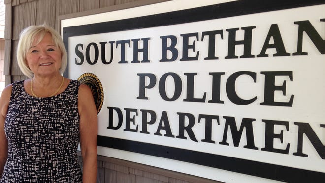 South Bethany Police Lt. Linda O'Malley celebrated her retirement after 31 years on July 18.