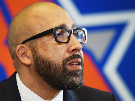 New York Knicks coach David Fizdale says he's letting his players compete for starting jobs.