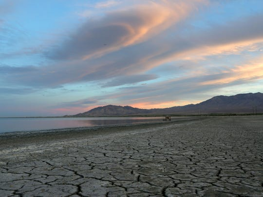 The Salton Sea is shrinking as farm runoff declines.