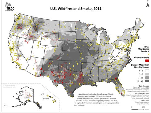 Wildfire smoke becoming a serious health hazard