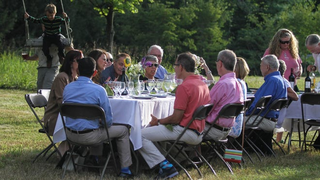 """Anythyme Farm partnering with 40 North Restaurants create a """"Field to Table"""" dining experience."""