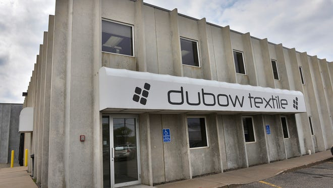 Dubow Textile Inc., photographed Friday, is at 455 Lincoln Ave. N in St. Cloud.