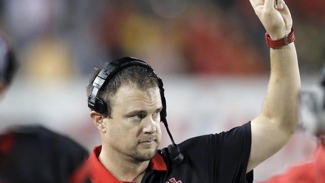 Houston coach Tom Herman has roots on the West Side of Cincinnati.