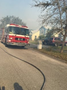 BCFR units respond to brush fire in Cocoa.