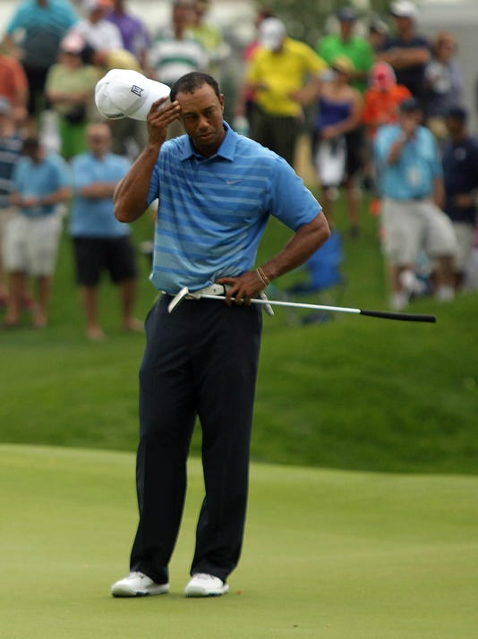 Tiger trails but in the hunt at The Barclays