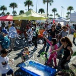 At Taste of Oviedo, there will be an area for kids to enjoy rides and games, including a rock wall and a bungee jump.