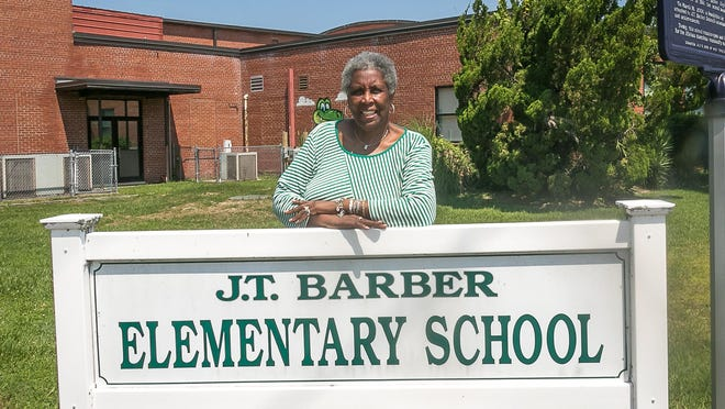 Linda Simmons-Henry is class coordinator of the J. T. Barber Class of 1970, the last segregated high school class to graduate in New Bern.