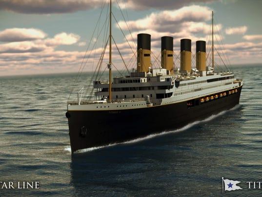 AP TITANIC II A USA NY