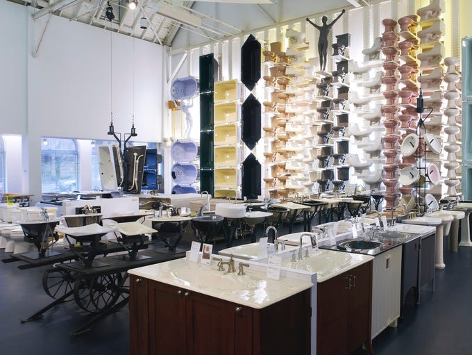 Vanities, sinks, faucets, toilets, counters and much