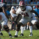 Tide hopes improvement on offensive line continues
