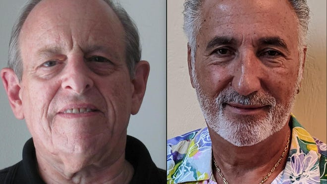Ponce Inlet Town Council member Joseph Perrone, left, is facing a challenge by David Israel.