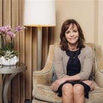 "In this March 2, 2016 photo, Sally Field poses for a portrait while promoting her new film ""Hello, My Name Is Doris,"" at The Four Seasons in Los Angeles. (Photo by Casey Curry/Invision/AP)"