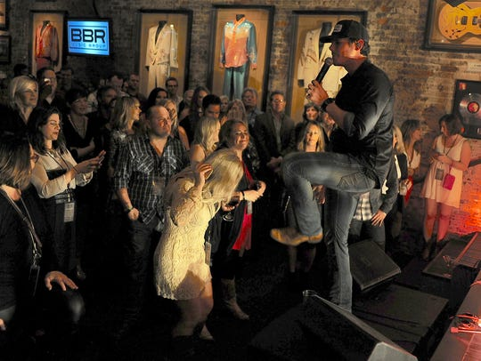 Granger Smith performs at the fifth annual pre-CMA