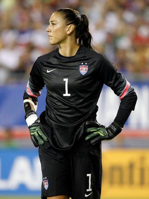 Hope Solo is charged with two counts of fourth-degree domestic violence assault.