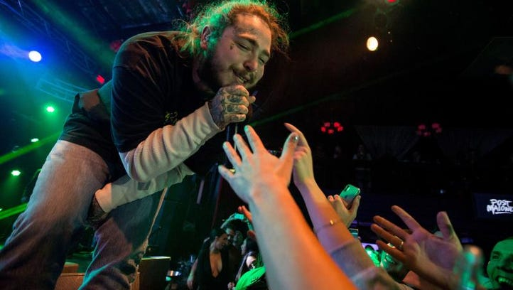 Chart-topping rapper Post Malone announces Iowa show, sells out venue in hours