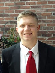 Safford standout student-athlete Collin Thompson.