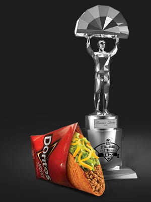 A free taco at Taco Bell on Wednesday.