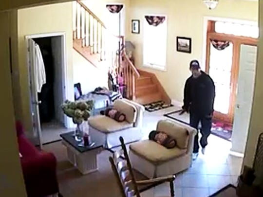 Police are looking to identify two men in connection with a burglary and theft at a home in Codorus Township on Jan. 5.