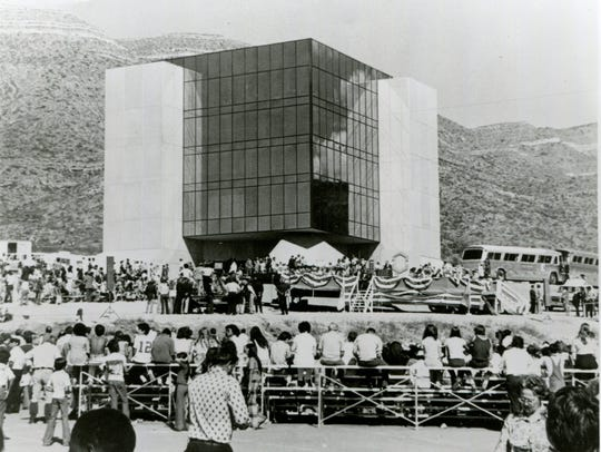 The 1976 dedication of the New Mexico Museum of Space