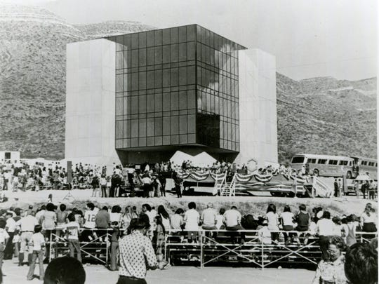 The 1976 dedication of the New Mexico Museum of Space History. 2016 marks the museum's 40th anniversary with a celebration, special guests and more.