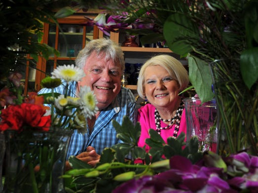 Link Johnsten and Darcia Jones Francey, a childhood