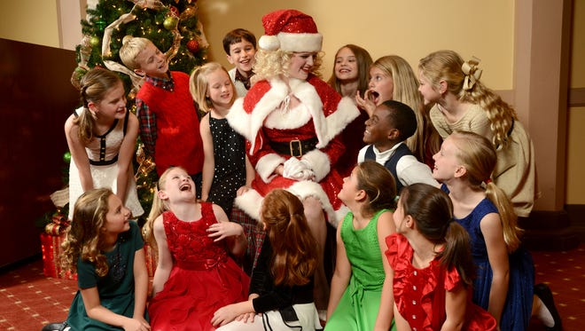 """The Pensacola Children's Chorus presents """"Christmas on the Coast"""" this weekend at the Saenger Theatre."""