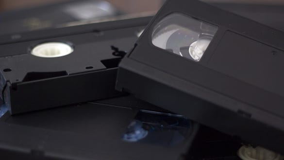 5 ways you can still watch old VHS tapes