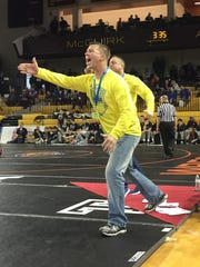 Hartland coach Todd Cheney won his 700th dual wrestling meet in the Eagles' 43-27 victory over Oxford in the state Division 1 quarterfinals.