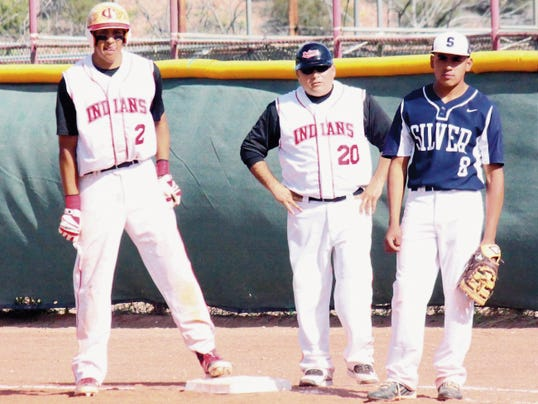 Danny Udero/Sun-News   Both Cobre and Silver High School's baseball teams will host in first-round games Friday and Saturday. Winners of the best of three series will advance to the state playoffs in Albuquerque.