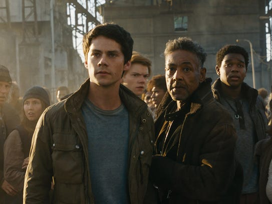 "Dylan O'Brien stars in ""Maze Runner: The Death Cure."""