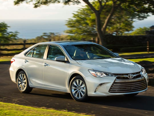 The 2017 Toyota Camry, which ranks No. 9 in the Made