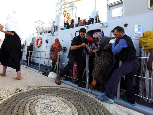 LIBYA-MIGRANTS-EUROPE-RESCUE