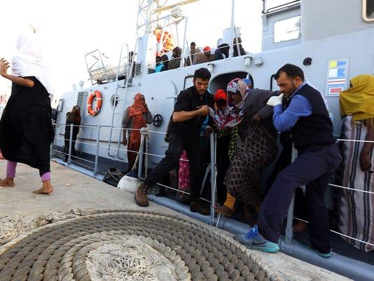 LIBYA-MIGRANTS-EUROPE-RESCUE