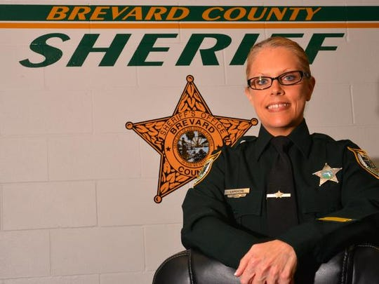 Deputy Carissa LaRoche has been named Brevard County's 2018 Correction Officer of the Year.